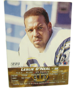 1994 Pacific Collection #223 NFL San Diego Chargers Leslie O'Neal Defens... - $2.52