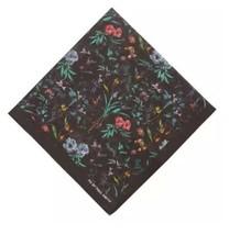 PAUL SMITH London Cotton FLORAL Print POCKET SQUARE Handkerchief Scarf F... - $60.78