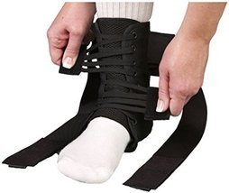 Med Spec ASO Ankle Stabilizer Orthosis Speed Lacer, Black, Small by Medical Spec - $30.49