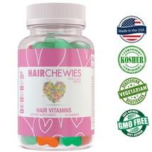 Hair Growth Vitamins Biotin & Folic Acid All Hair Types Sugar Free Gummi... - $35.95