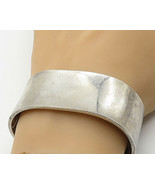 SKAGEN 925 Silver - Vintage Shiny Polished Minimalist Cuff Bracelet - B6901 - $196.44