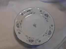 Set Of 8 ~Vintage Johann Haviland Roses Blue Garland China Side Bread Plates - $24.99