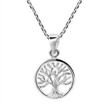 Assyrian Tree Of Life And Knowledge .925 Sterling Silver Necklace for Wo... - $72.76