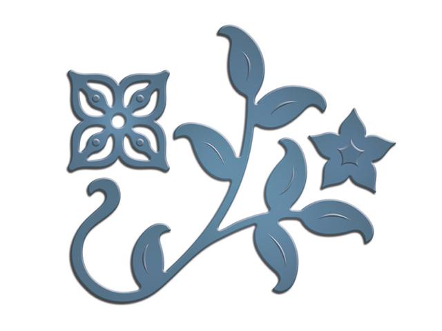 Spellbinders Sapphire Dies, Mini Floral Set One