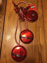 Christmas Red Tone Bells Ships N 24h - $21.32