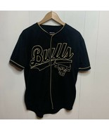 NBA Chicago Bulls Black and Gold Button Front Jersey Size Small #66 Bask... - $39.57