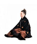 Meditation or Prayer Shawl, Blanket, Oversize Scarf, or Wool Wrap, Unise... - $49.99