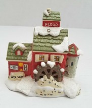 J. Young's Granary Christmas Tree Ornament Dept 56 Snow Village Classic Series - $6.95