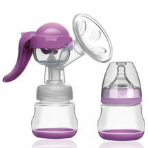 Breast Milk Pump Ergonomics Design Manual breast pump with Labor-saving ... - $17.28
