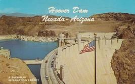 Old Chrome Postcard B331 Hoover Dam NV AZ Curteich Bureau of Reclamation... - $5.00