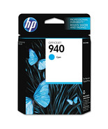 HP 940 C4903AN Cyan Original Ink Cartridge, Yield 900 - $40.54