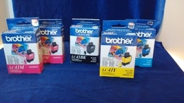 Brother Ink LC41 Ink 5 boxes different color dated 2012 & 2013, New in Box - $9.99