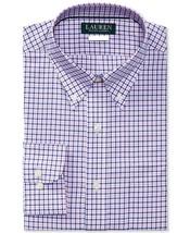 Polo Ralph Lauren Men's Slim-Fit Checked Poplin Shirt,Size XS,Navy\Pink,... - $49.49