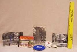 Vintage Minnesota Souvenir Ruler Coin Keychain Leather Tag Photo Book 3 ... - $13.85