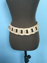 Brave 1992 Boho Leather Link Belt - $19.80