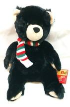 "Bjorn Black Bear Pudgie (Holiday) Small 8 "" by Douglas - $17.82"