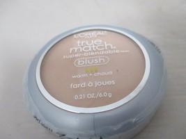 L'Oreal Paris True Match Super Bendable Blush W1-2 Bare Honey .21oz SEALED - $10.99