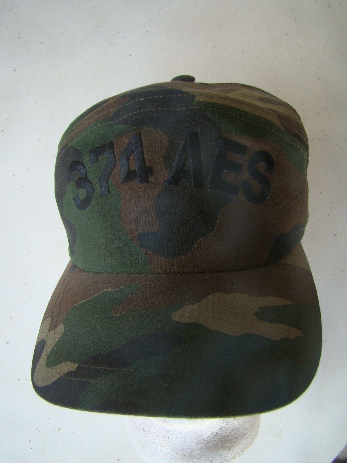 5e250d8c840 S l1600. S l1600. Previous. USAF AIR FORCE PILOT AIR GROUND CREWS WOODLAND  BDU BALL CAP BALLCAP HAT 374 AES