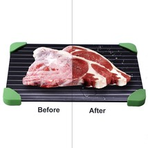 Fast Defrost Tray Thawing Meat Frozen Foods Safest Defrosting Tray Power... - ₨1,139.51 INR