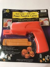 Dial Action Drill & Saw Power Pumpkin Carver Missing Some Part Ships N 24h - $404,84 MXN