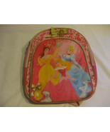 Disney Princess Pink Nylon Back Pack School Bag With Adjustable Shoulder... - $18.80