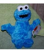 "Sesame Street COOKIE MONSTER 10"" Plush NWT - $13.88"