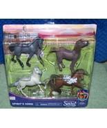 Spirit Riding Free Riding Academy SPIRIT'S HERD Horse Figure 4-Pack New - $16.50