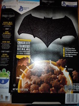 General Mills Bat Man Chocolate Strawberry Cereal Empty Box  2016 - $6.99