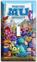 Monsters Inc University Mike Sully Single Light Switch Cover Kids Room Decor Art - $8.09