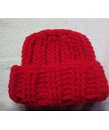 Red Winter Ski Hat for Adults and Teens - $5.00