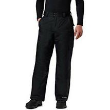 Columbia Mens Bugaboo II Pant, Waterproof and Breathable, Black, 1X Regular - $74.24
