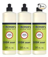 Mrs. Meyer's Clean Day Liquid Dish Soap, Cruelty Free Formula, Lemon Ver... - $18.28