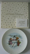 Avon A Child's Christmas Plate Original Box 1986 - $13.98
