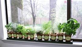 Sustainable Seed Company Windowsill Herb Garden Kit, Indoor Herb Garden Kit A - $52.35