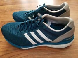 Adidas Boost Adizero Boston Mens Size 6.5 Continental Running Shoes Dark... - $27.40