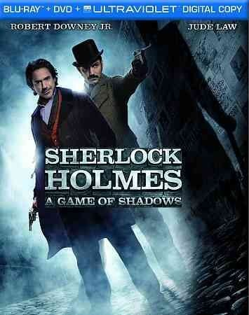 Sherlock Holmes: A Game of Shadows (Blu-ray, 2012)