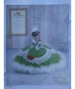 ANNIE POTTER ORIGINAL CROCHET 1997 MISS DECEMBER Doll Costume Pattern - $4.95