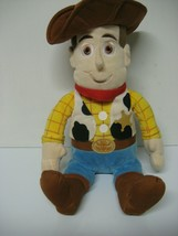 "DISNEYS TOY STORY"" WOODY"" plush figure 14 inches from kohls dept. store - $10.99"