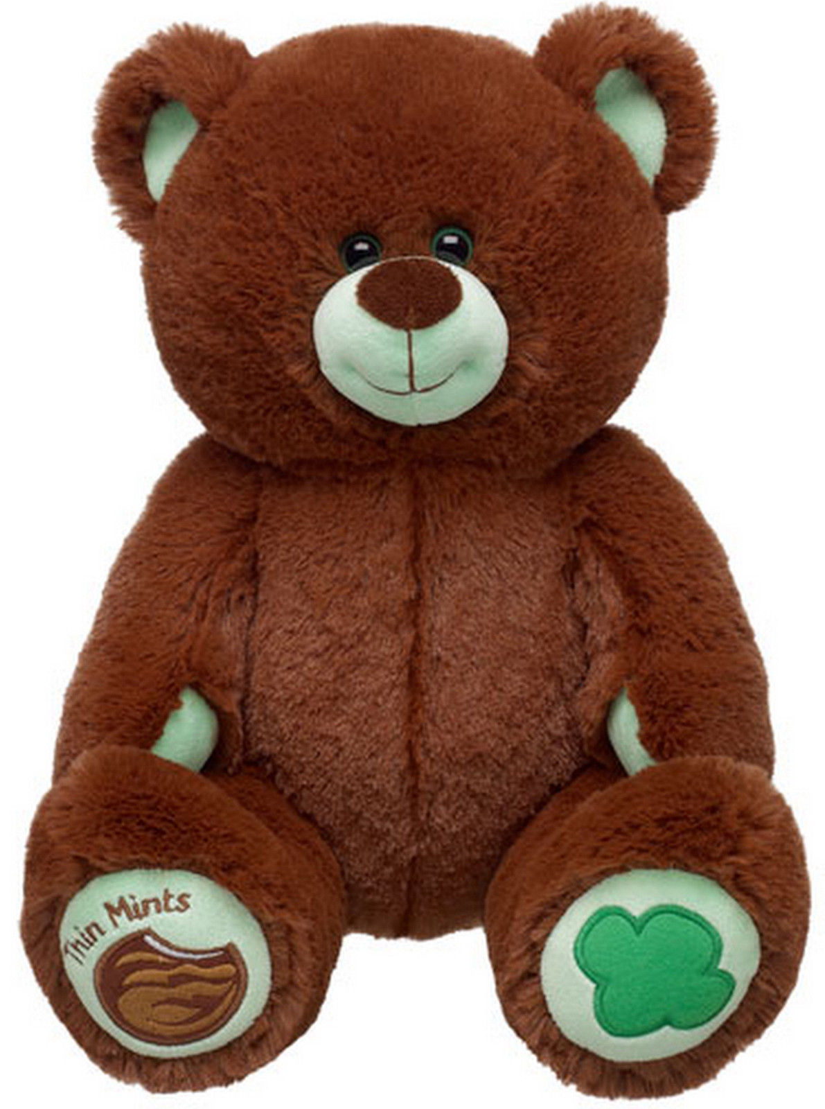 new build a bear thin mints girl scout cookie themed teddy