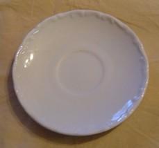 BAVARIA WHITE SAUCER BY SCHUMANN - $3.59