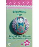 Matryoshka #3 Needleminder fabric cross stitch ... - $7.00