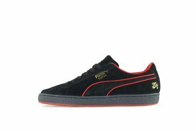 Mens Puma x FUBU Suede Classic 50th Anniversary Black Red 366320-02