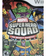 Marvel Super Hero Squad  The Infinity Gaunlet - Nintendo Wii Games - $20.00