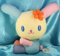 Sanrio Usahana checked style Sit Jumbo Plush Doll Japan - $69.99