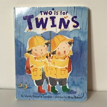 Two is for Twins by Wendy Cheyette Lewison Pictures by Hiroe Nakata Boar... - $11.88