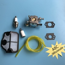 Carburetor Carb & Air Filter F HUSQVARNA 136 137 141 142 36 41 142E Zama... - $14.36