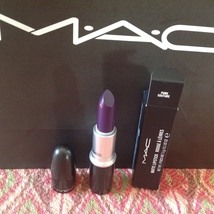 Authentic Mac Matte Punk Couture Lipstick, Full Size & New In Box - $20.00