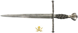 SPANISH OR ITALIAN DAGGER 1700's SWORD KNIFE PIRATE GOLD COINS ANTIQUE W... - $2,950.00