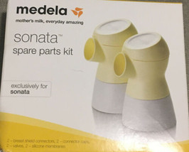 Medela Sonato Spare Parts Kit For Sonata Breast Pumps. NIB!! - $14.50