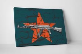 AK-47 Modern Pop Art Gallery Wrapped Canvas Wall Art - $42.52+